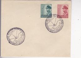 CROATIA   --  NDH   ---   FDC /   II. GODISNJICA UZPOSTAVE NEZAVISNE DRZAVE HRVATSKE /  1943 - Kroatien