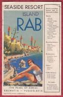 RAB - ARBE - The Pearl Of Adria - 20x12,5cm - Tourist Brochure - Booklet. Croatia A212 - Croatia