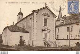 D83  CHARTREUSE DE MONTRIEUX  Chapelle Conventuelle, Extérieur  ..... - Frankrijk