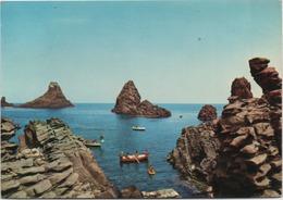 Catania, Acitrezza: I Faraglioni. Viaggiata 1973 - Catania