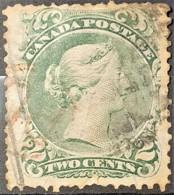 CANADA 1868/76 - Canceled - Sc# 24 - 2c - Oblitérés