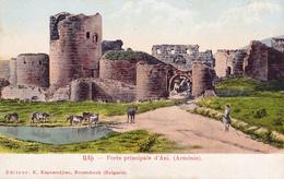 Ani / Անի - Capital Of The Bagratid Armenian Kingdom  - Porte Principale / Main Gate - Armenië