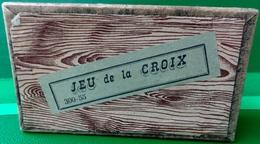 JEU ANCIEN DANS SA BOITE . PUZZLE CASSE TÊTE . LE JEU DE LA CROIX FIN XIX ° - Jouets Anciens