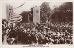 Eucharistic Congress Phoenix Park Dublin Ireland Papal Legate Arrives C1930s Vintage Real Photo Postcard - Christianisme