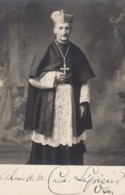 Cardinal Lepicier, Autographed(?)c1910s/20s Vintage Real Photo Postcard - Christianity