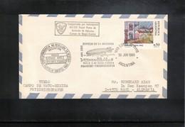 Argentina 1989  55 Years Of Graf Zeppelin In Argentina Interesting Cover - Zeppeline