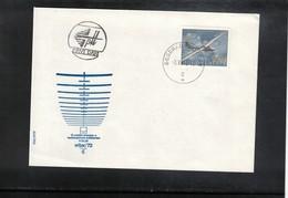Yugoslavia 1972 Vrsac World Glider Championship Interesting Cover FDC - Autres