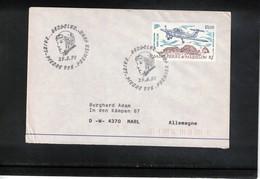 St.Pierre Et Miquelon 1991 Aero-Club Interesting Cover FDC - Briefe U. Dokumente