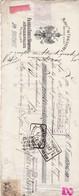 MUNCHENGRATZ AUTRICHE  LYON FRANZ ERNST KOMPERT LETTRE DE CHANGE FRANCO AUTRICIENNE ANNEE 1906 AVEC CACHET TIMBRE FISCAL - France