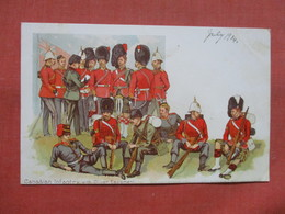 Canadian Infantry With Oliver Equipment     Ref 3812 - Autres