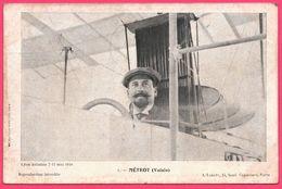 Meeting Lyon - Aviateur Métrot - Voisin - Pilote - Aviation - Avion - Edit. A. LABATY - Imp. WALTENER & Cie - 1910 - Reuniones