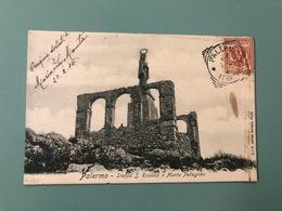 PALERMO STATUA DI S. ROSALIA A MONTE PELLEGRINO  1904 - Palermo