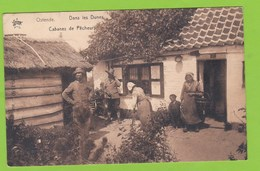 OSTENDE   -   Dans Les Dunes, Cabane De Pêcheurs - Oostende