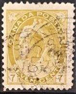 CANADA 1898/1902 - Canceled - Sc# 81 - 7c - Gebraucht
