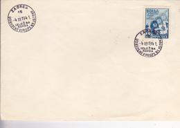 CROATIA --  NDH   --  BRIEF  --   IZLOZBA BORBA  --  UDRUZENE EUROPE NA ISTOKU  --  ZAGREB, 4. XII. 1941 - Kroatien