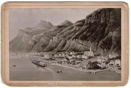 Photo 15 Cm X 9,5 Cm - Suisse - Lucerne - VITZNAU - Collection Prell Nr.10 - 2 Scans - Anciennes (Av. 1900)