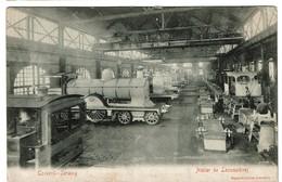 Cockerill - Seraing - Atelier De Locomotives - Circulée En 1908 -  2 Scans - Seraing