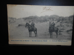 193-BEVERLOO- Bourg Leopold - Vues Ds Dunes Hectel -cavalerie Paard**ENVOI GRATIS VERZENDING FREE SHIPPING** - Leopoldsburg (Camp De Beverloo)