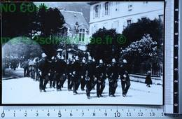 BONNEVILLE 74 FÊTE POMPIERS MAI 1900 PHOTO REPRODUCTION PHOTOGRAPHIE ANCIENNE COPIE ARGENTIQUE SAVOIE ALPES SAVOYARDS - Métiers
