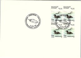 GROENLAND - GRONLAND - FDC  14.04.1988 /  3 - FDC