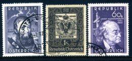 Mi. 949-951 Gestempelt - 1945-.... 2. Republik