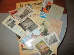 Lot De 3 Kg De Vieux Papiers - Documentos Antiguos