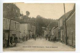 Couze Saint Front Route De Beaumont - France