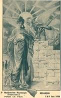 DOUBS 25.BESANCON Xe MANIFESTATION FRANC MASONIQUE JUIN 1930 FRANC MACON ILLUSTRATEUR - Besancon