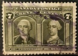 CANADA 1908 - Canceled - Sc# 100 - 7c - Oblitérés