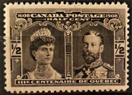 CANADA 1908 - MLH - Sc# 96 - 1/2c - Unused Stamps