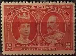 CANADA 1908 - MLH - Sc# 98 - 2c - Unused Stamps