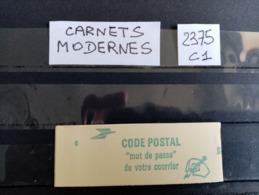Carnet Moderne.Type Liberté De Delacroix.N°2375 C1.Neuf. - Usage Courant
