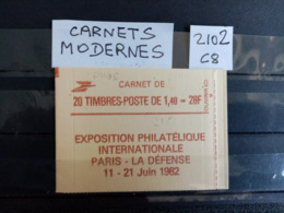 Carnet Moderne Type Sabine. N°2102 C-8. Neuf. - Usage Courant