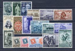 ITALIA  REPUBBLICA  1950-1951 COMMEMORATIVI == MNH** - 1946-60: Neufs