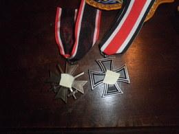 Lot De 2 Médailles Allemande  Ww2 - 1939-45