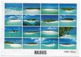 MALDIVES-HOTEL ISLANDS (PHOTO MICHAEL FRIEDEL No.23/219) / THEMATIC STAMP SHELL - Maldive