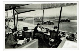 The Control-tower In Copenhagen Airport - Circulée - 2 Scans - Aeródromos