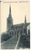 Alsemberg - De Kerk En De Trappen - Beersel