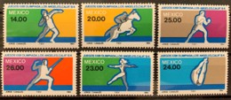 MEXICO  - MNH** - 1984 - # 1351/1356 - Mexico
