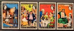 DOMINICA  - MNH** - 1970 - # 304/307 - Dominica (1978-...)