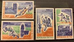 MALI  - MNH** - 1972 - # C147/150 - Mali (1959-...)