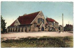 St-Idesbald-sur-Mer - Ecole Et Eglise De St-Idesbald - Koksijde