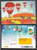 Canada, 2019, Lettre Du Père-noël, Santa Claus Letter, Montgolfière, Hot Air Balloon, Plongée, Scuba Diving, émeu, - 1953-.... Elizabeth II