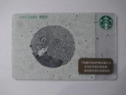 China Gift Cards, Starbucks, 100 RMB, 2018 (1pcs) - Gift Cards
