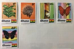 GHANA  - MH* - 1968 - # 331/335 - Ghana (1957-...)