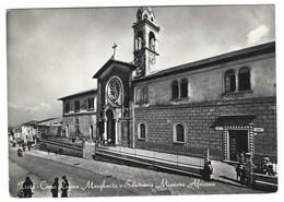 2300 - TROIA FOGGIA CORSO REGINA MARGHERITA E SEMINARIO MISSIONE AFRICANA ANIMATA 1950 CIRCA - Italia