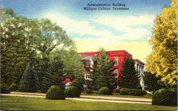 Tennessee Johnson City Milligan College Curteich - Johnson City