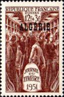 Algérie Poste N** Yv:287 Mi:298 Journée Du Timbre Wagon Postal - Algeria (1924-1962)
