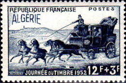 Algérie Poste N** Yv:294 Mi:305 Journée Du Timbre Malle-poste - Argelia (1924-1962)