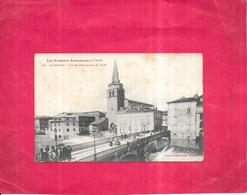 SAINT GIRONS - 09 - Eglise Paroissiale Et Pont  - - Saint Girons